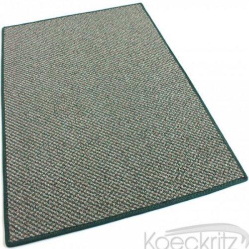 Buena Vista Stone Garden Graphic Loop Indoor-Outdoor Area Rug Carpet