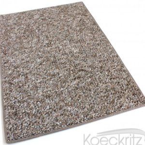 Oceanside Fudge Ripple Berber Level Loop Indoor-Outdoor Area Rug Carpet