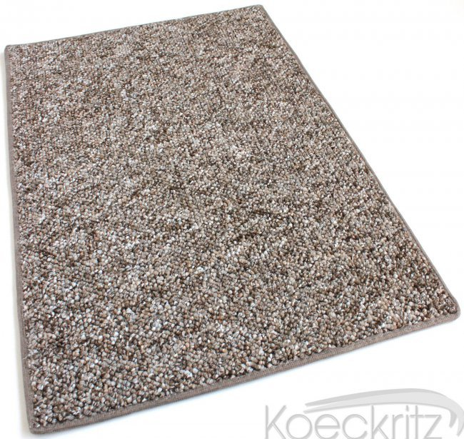 Oceanside Fudge Ripple Berber Level Loop Indoor Outdoor Area Rug Carpet
