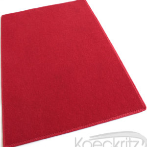Red Indoor-Outdoor Durable Soft Area Rug Carpet