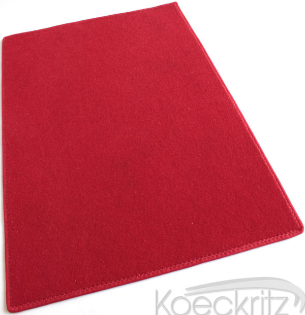 Red Indoor-Outdoor Durable Soft Area Rug Carpet - Red Durable Soft Rugs
