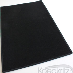Black Indoor-Outdoor Durable Soft Area Rug Carpet