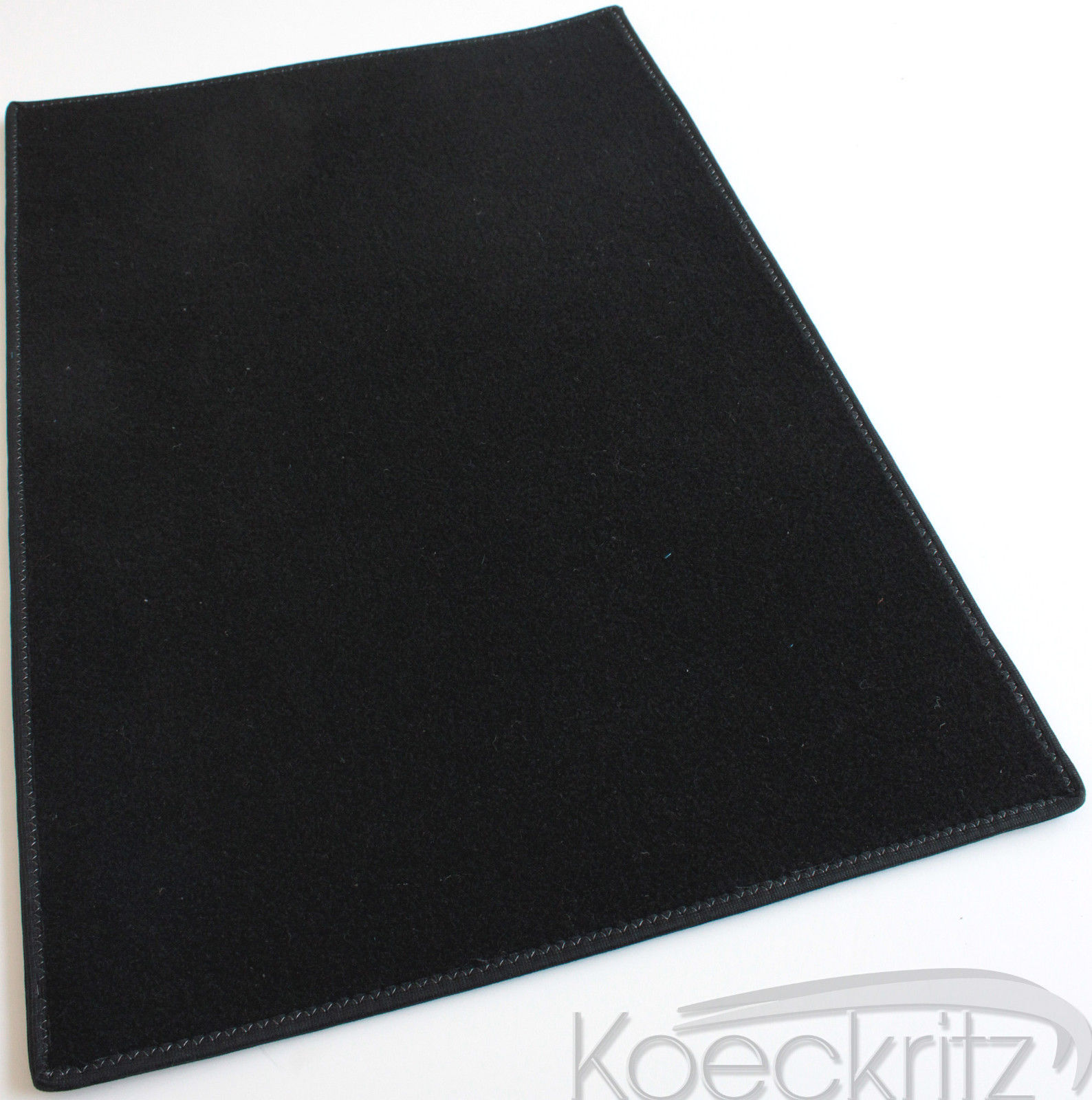 Black Indoor Outdoor Durable Soft Area Rug Carpet