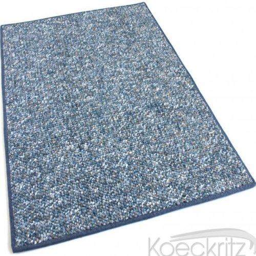 Oceanside Baltic Blue Berber Level Loop Indoor-Outdoor Area Rug Carpet