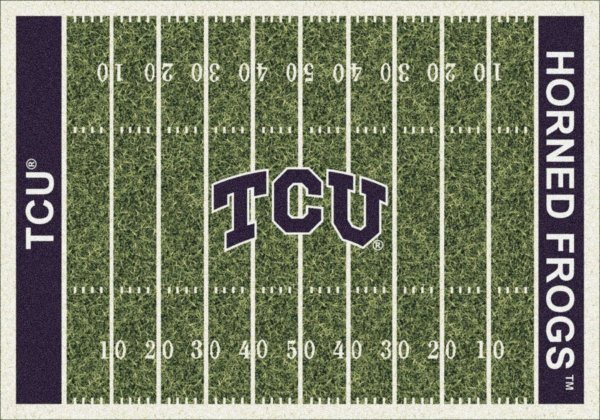 Texas Christian Horned Frogs Area Rug