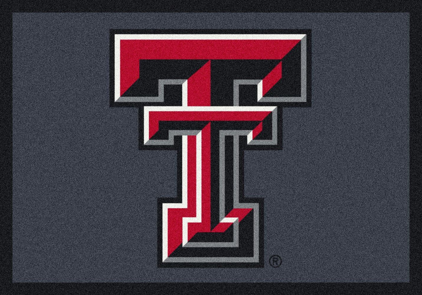 Texas Tech Red Raiders Area Rug Ncaa Red Raiders Area Rugs