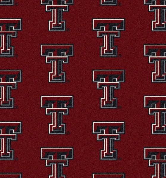 Texas Tech Red Raiders Area Rug Ncaa Red Raiders Area Rugs