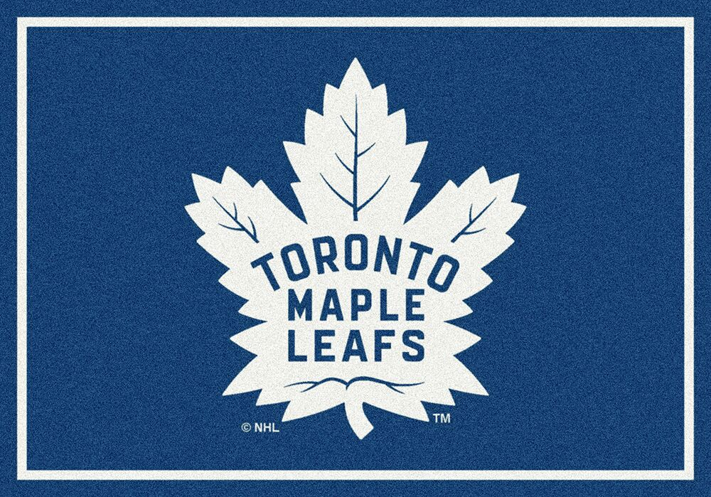Toronto Maple Leafs Nhl Team Spirit Area Rug
