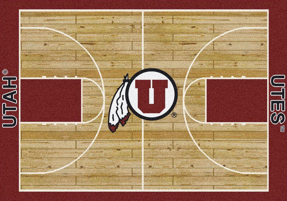 Utah Utes Area Rug Ncaa Utes Area Rugs