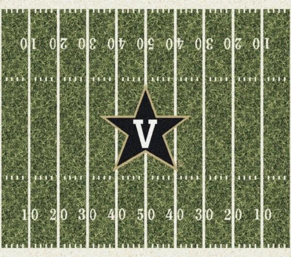 Vanderbilt Commodores Area Rug Ncaa Commodores Area Rugs