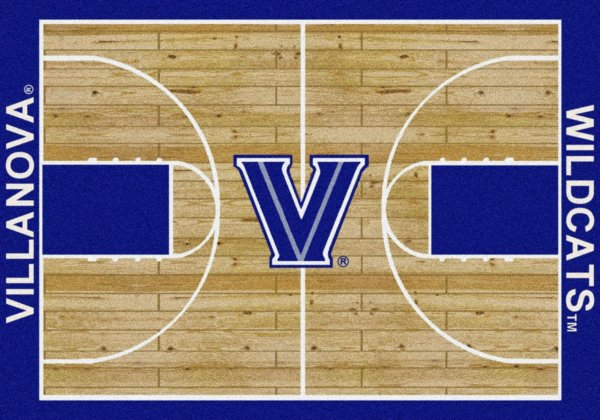 Villanova Wildcats Area Rug