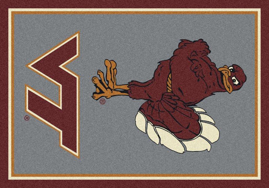 Virginia Tech Hokies Area Rug Ncaa Hokies Area Rugs