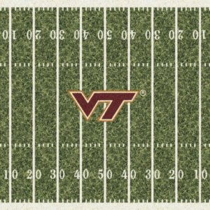 Virginia Tech Hokies Area Rug
