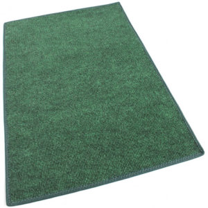 Green Indoor-Outdoor Olefin Carpet Area Rug image