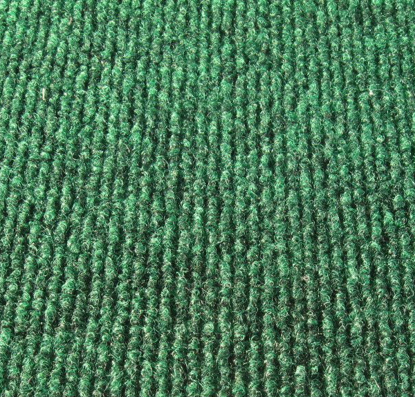 Green Indoor-Outdoor Unbound Carpet Area Rug