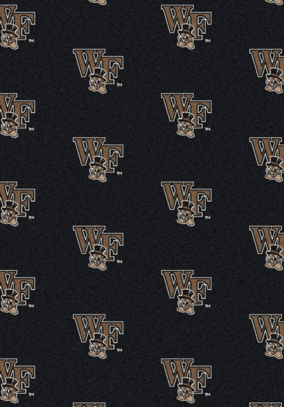 Wake Forest Demon Deacons Area Rug Ncaa Demon Deacons