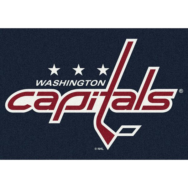 Washington Capitals Nhl Team Spirit Area Rug