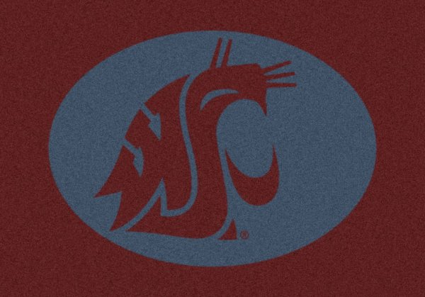Washington State Cougars Area Rug