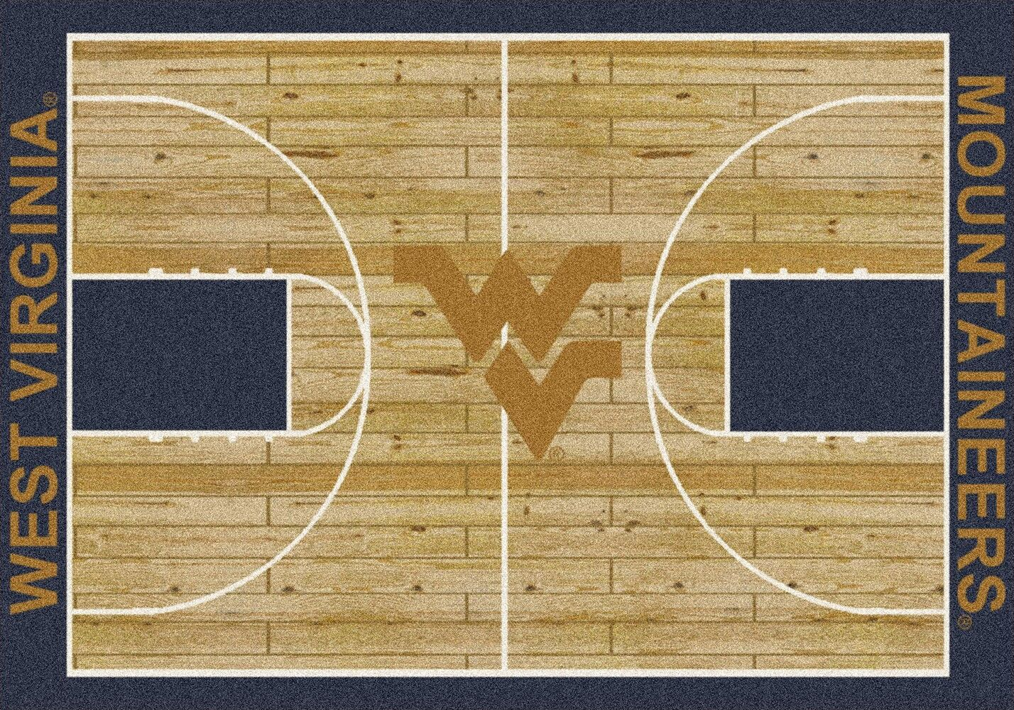 West Virginia Mountaineers Area Rug