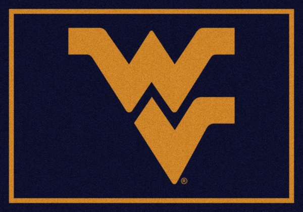 West Virginia Mountaineers Area Rug