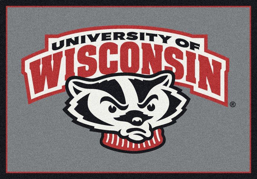 Wisconsin Badgers Area Rug : NCAA : Badgers Area Rugs