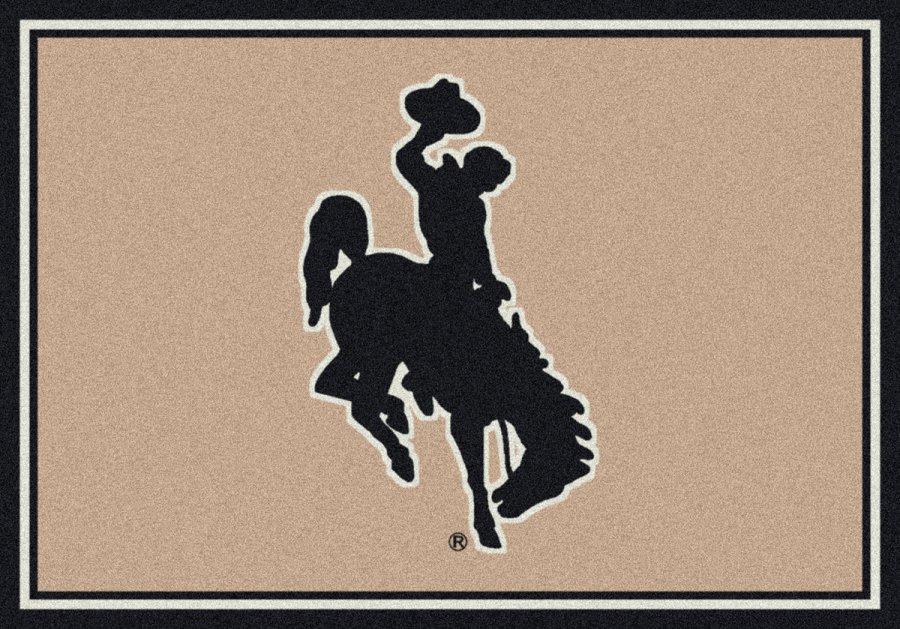 Wyoming Cowboys Area Rug Ncaa Cowboys Area Rugs