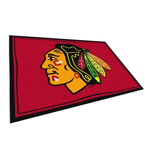Chicago Blackhawks Area Rug Nhl Blackhawks Area Rugs