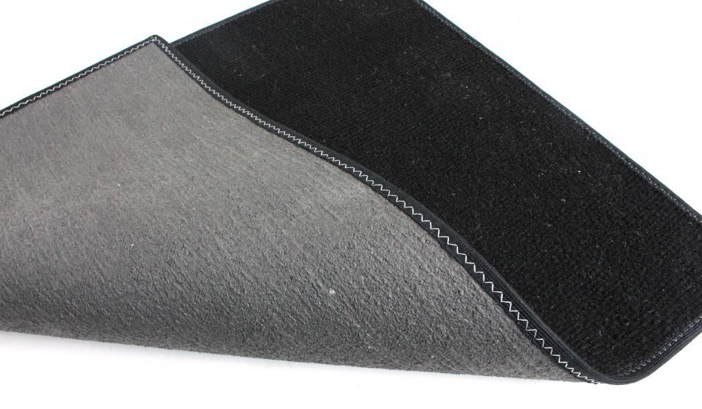 Black Indoor Outdoor Olefin Carpet Area Rug