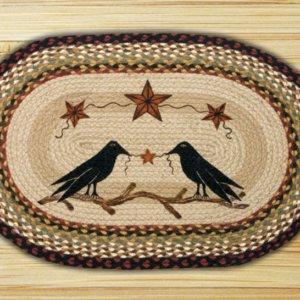 Earth Rugs Crow & Barn Stars