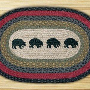 Earth Rugs Black Bears