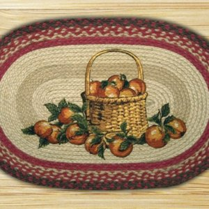 Earth Rugs Apple Basket