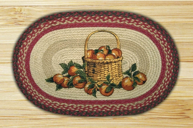 Earth Rugs Apple Basket