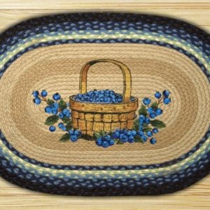 Earth Rugs Blueberry Basket