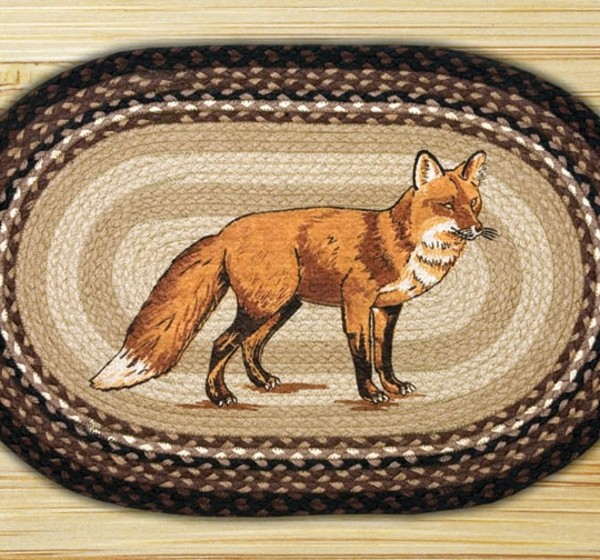 Earth Rugs Fox