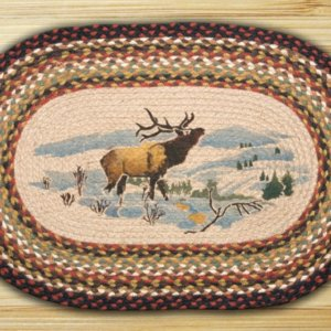 Earth Rugs Winter Elk