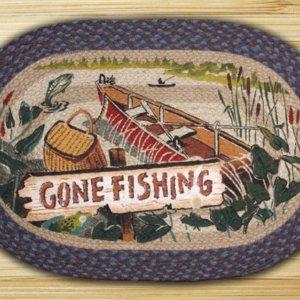 Earth Rugs Gone Fishing
