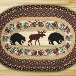 Earth Rugs Bear Moose
