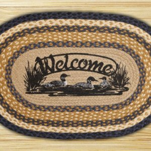Earth Rugs Welcome Loons