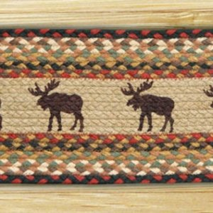 EARTH RUGS Moose BRAIDED JUTE Stair Treads ST-OP-019