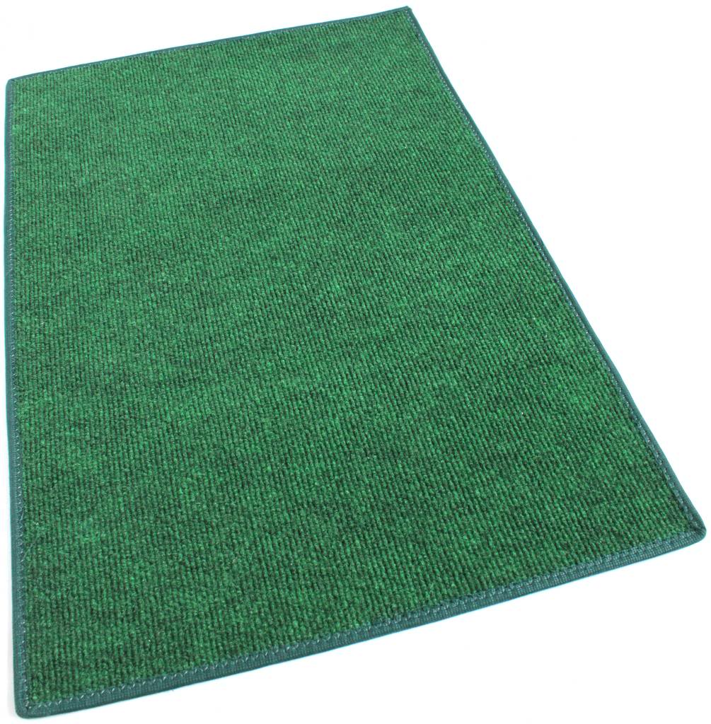 Green indoor outdoor olefin carpet area rug for Indoor outdoor carpet green