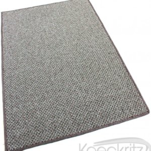 Buena Vista Taupestone Graphic Loop Indoor-Outdoor Area Rug Carpet