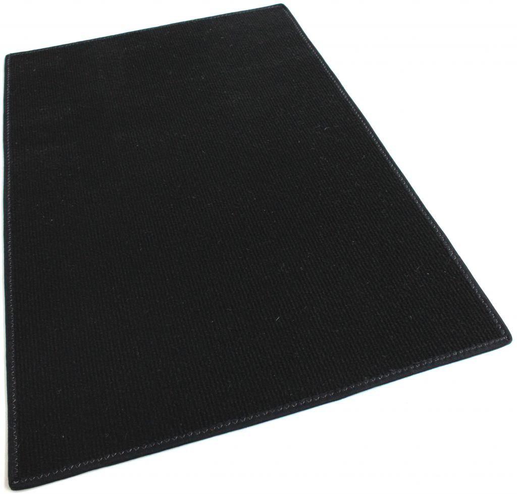 Black Indoor Outdoor Olefin Carpet Area Rug