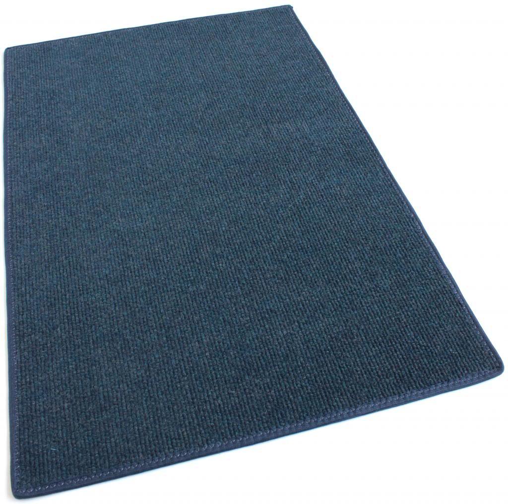 Blue Indoor-Outdoor Olefin Carpet Area Rug