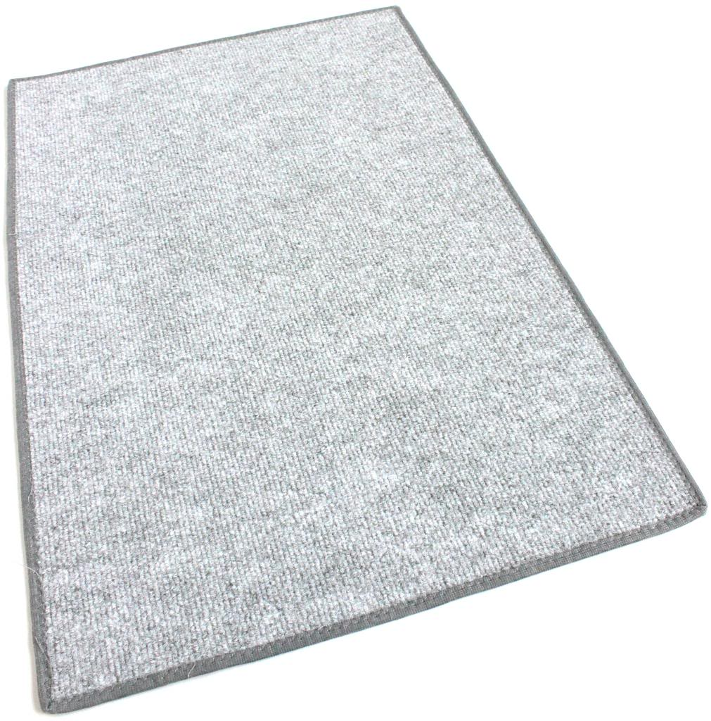 Misty Grey Indoor-Outdoor Olefin Carpet Area Rug