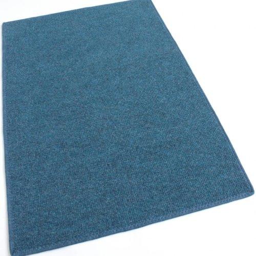 Pacific Blue Indoor-Outdoor Olefin Carpet Area Rug