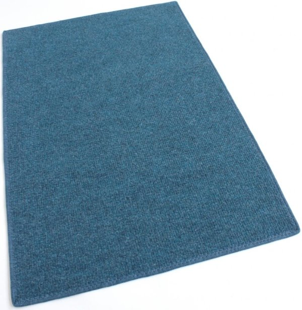 Pacific Blue Indoor-Outdoor Olefin Carpet Area Rug