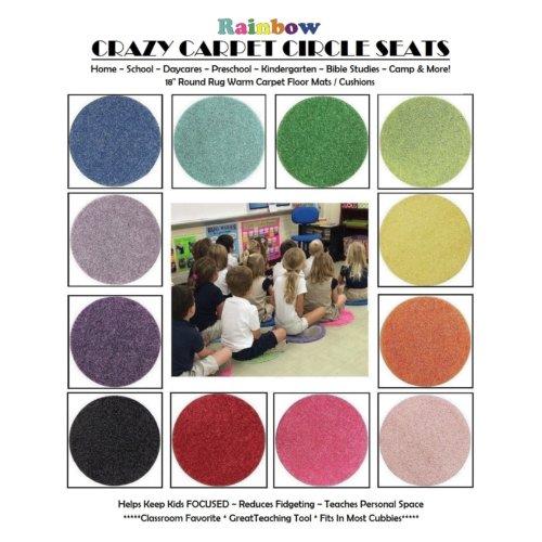 Children's Crazy Carpet Circle Seat