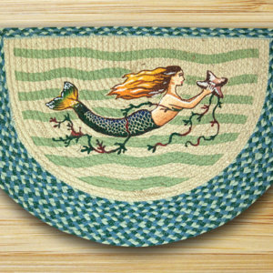 Earth Rugs Mermaid