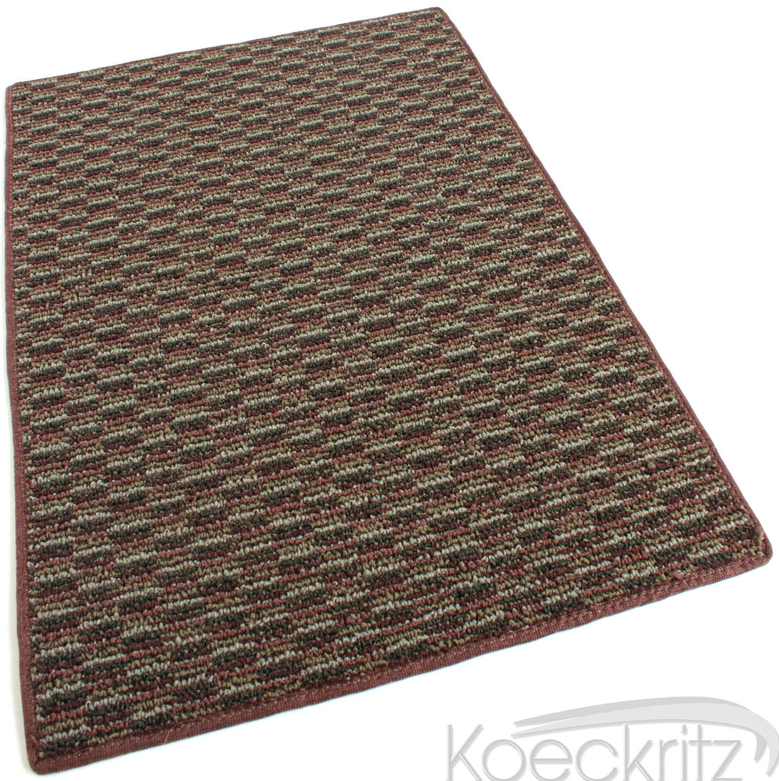 Pattern Play Brick Walkway Level Loop Indoor-Outdoor Area Rug Carpet