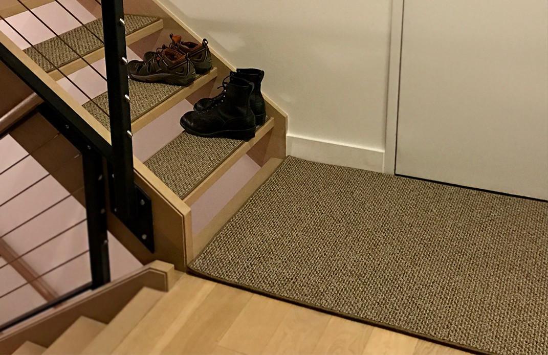 Natural Path Macrame Level Loop Indoor Outdoor Area Rug Carpet | 20 Oz  Olefin Indoor Outdoor Area Rug